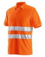 POLO ORANGE POLYESTER REFLEX Soluprotech